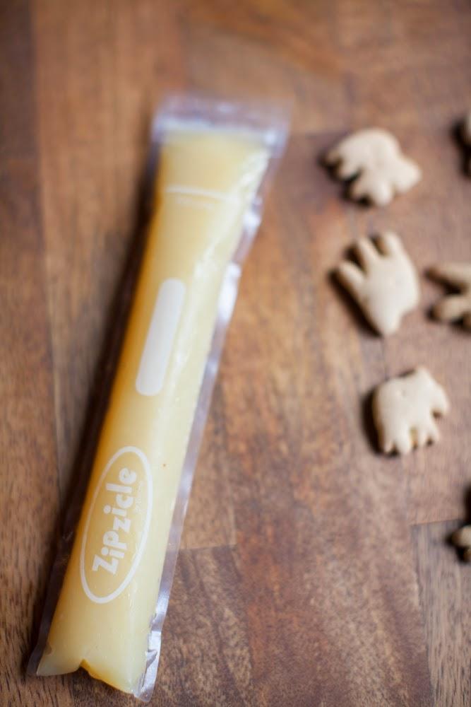 Zipzicle Applesauce pouches Use 3 of 12!