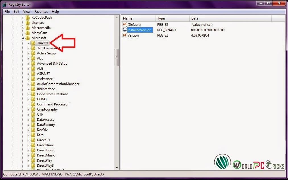 directx windows 7 64 bit download microsoft