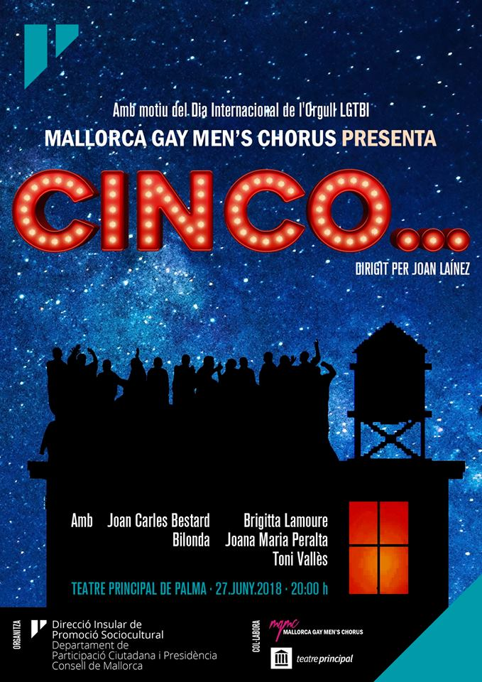 Concierto MALLORCA GAY MEN'S CHORUS