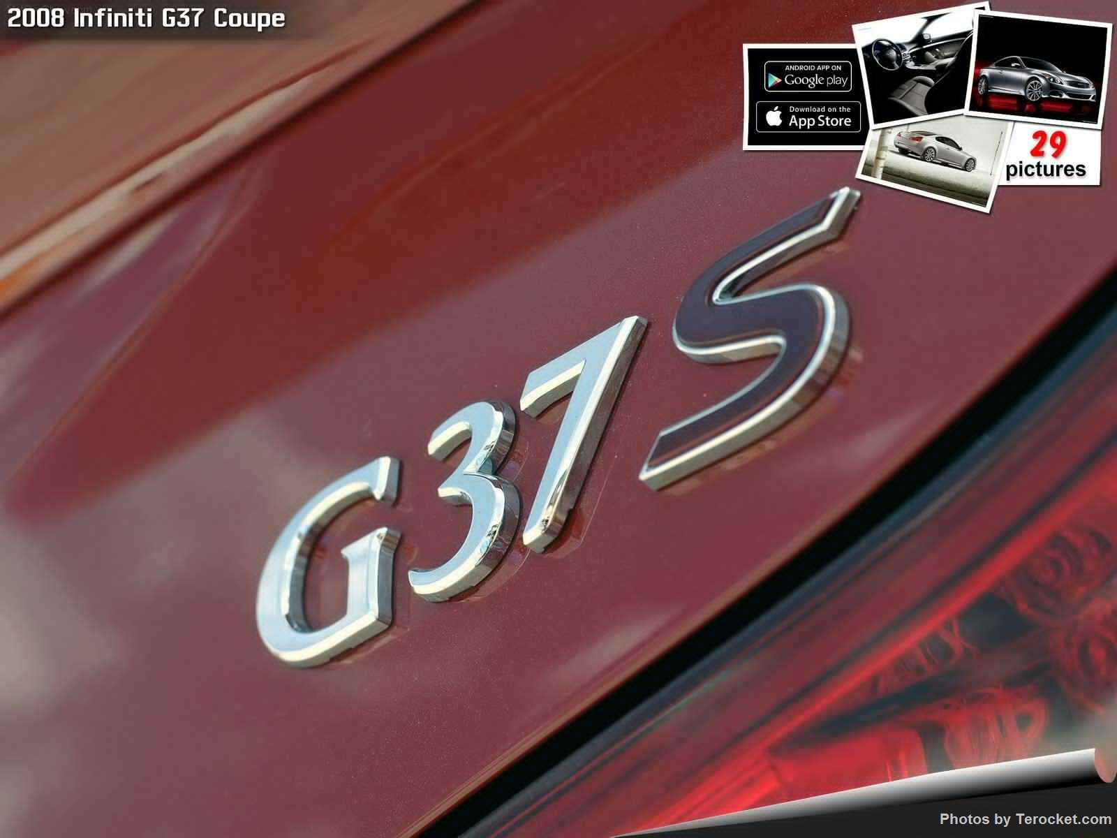 Hình ảnh xe ô tô Infiniti G37 Coupe 2008 & nội ngoại thất