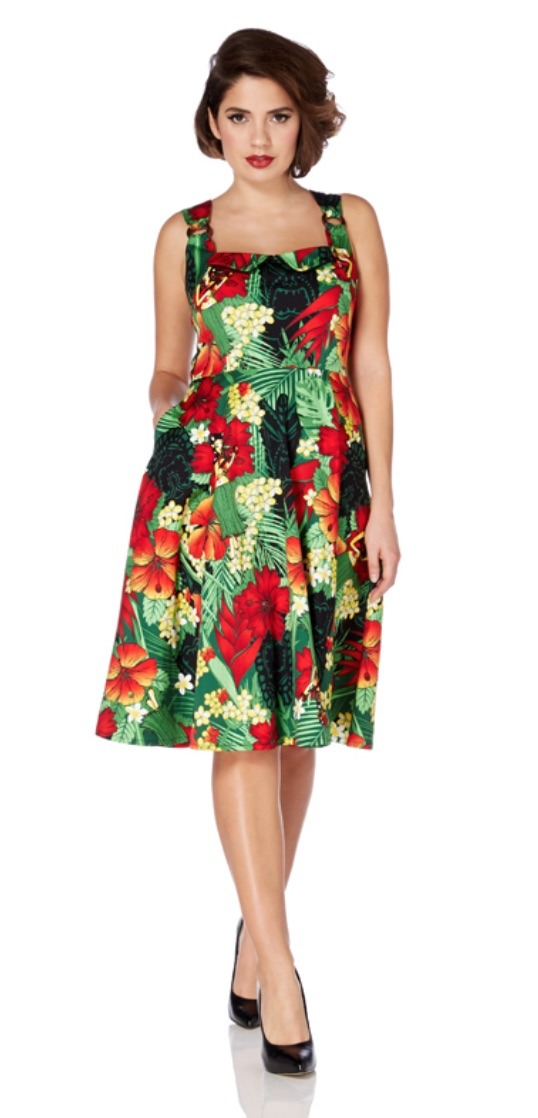 Felicity Tropical A-line Dress