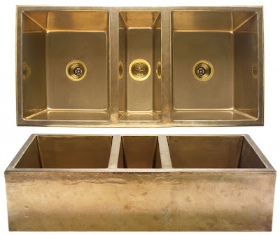 Brass Farmhouse Sink