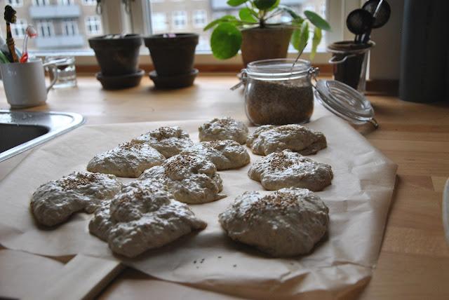Frühstücksbrötchen in Kopenhagen: Vorher