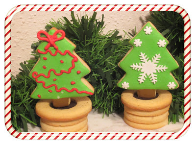 Galleta decorada 3D navidad