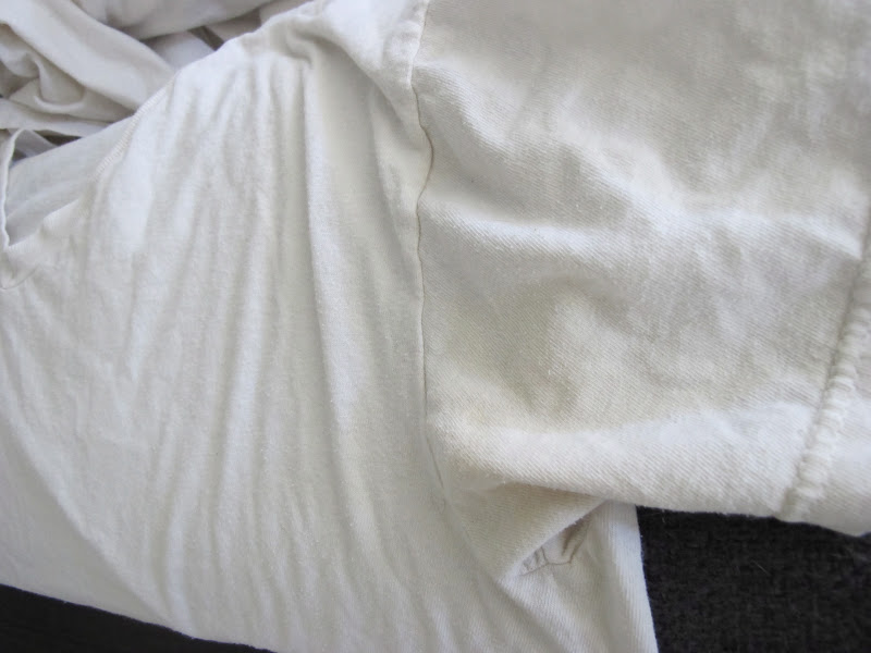 how to get stains from armpits out of shirts