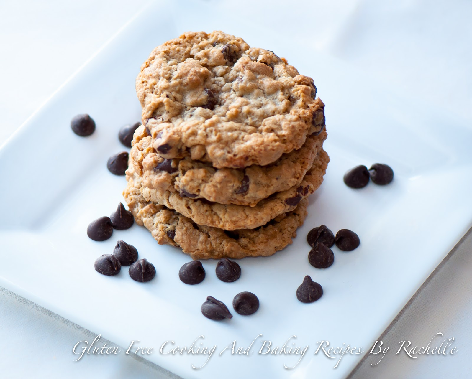 ... By Rachelle: Gluten Free/Dairy Free Oatmeal Chocolate Chip Cookies