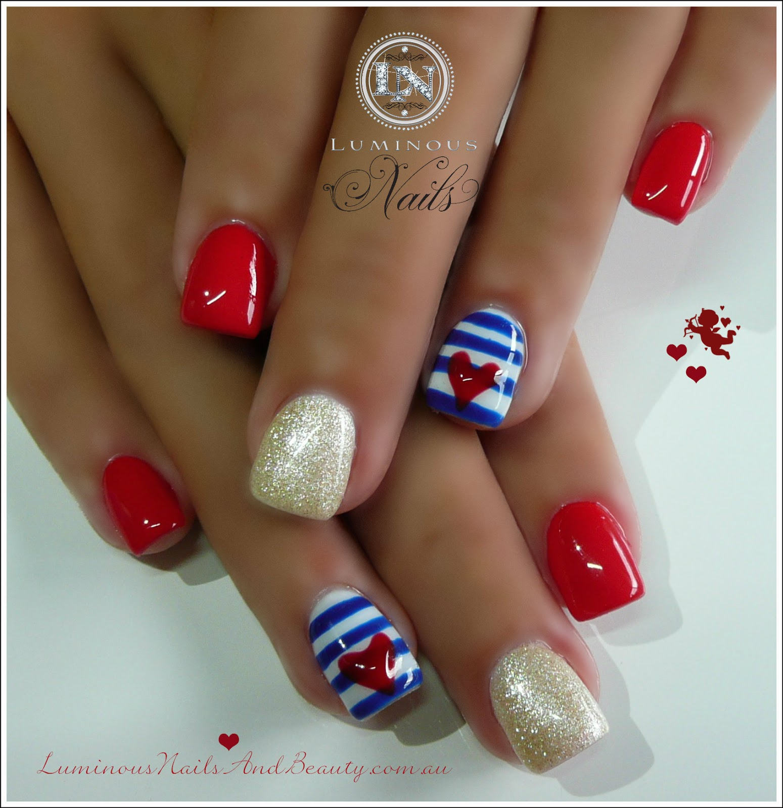 Luminous Nails: February 2013
