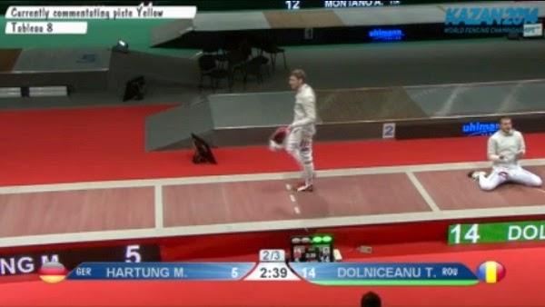 Tiberiu Dolniceanu, semifinale la Kazan