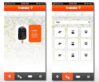 Trakdot App