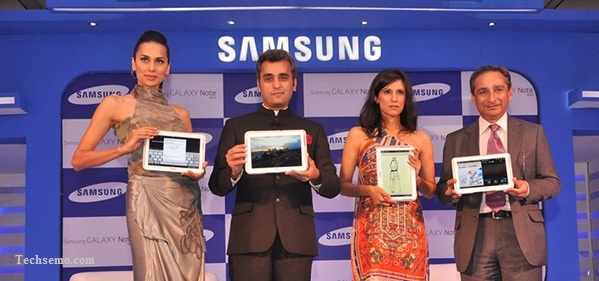 Samsung launches the Galaxy Note 800