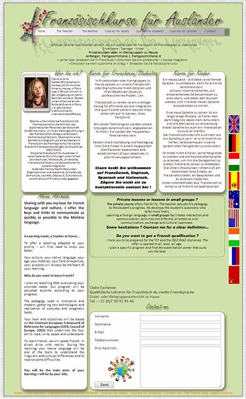 Französischkurse für Ausländer
