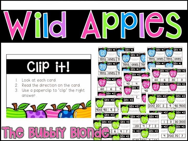 http://www.teacherspayteachers.com/Product/Wild-Apples-Place-Value-Centers-1461150