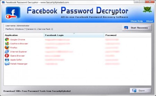 Facebook Password Decryptor Portable Cracked Version Free Download