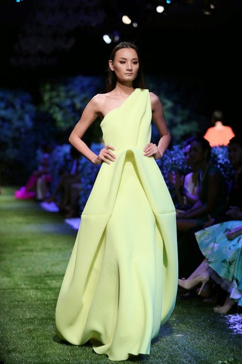 cỏ nhân tạo trong tổ chức sự kiện và trình diễm thời trang