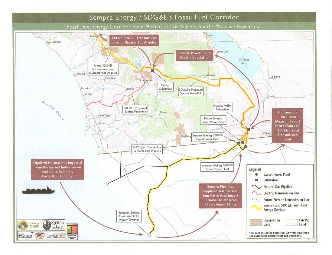 Sunrise Powerlink:Trail of Lies, Deceit & Greed: SEMPRA and SDG&E ...