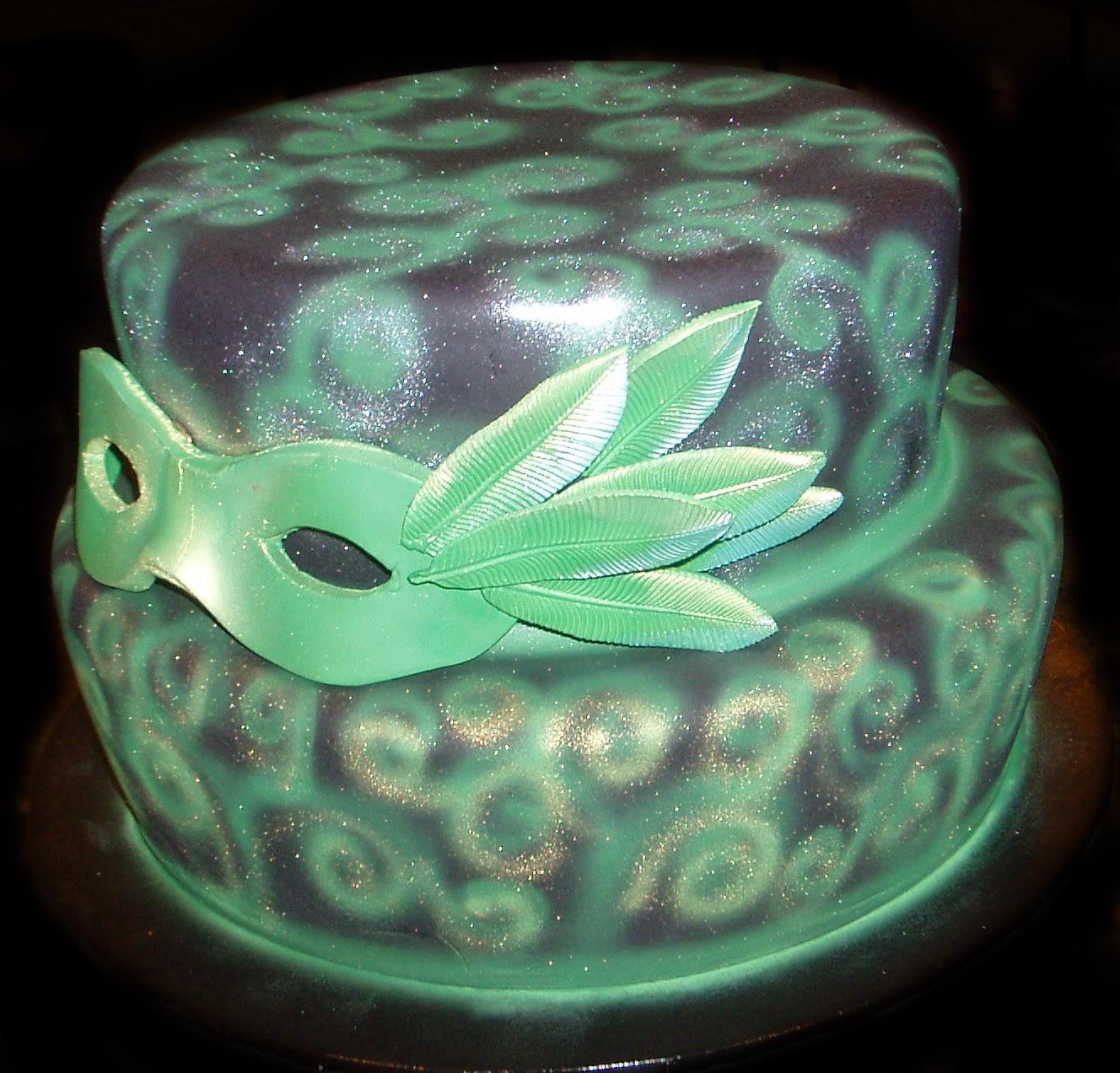 Nadas Cakes Masquerade Birthday Cake By Nadas Cakes Canberra