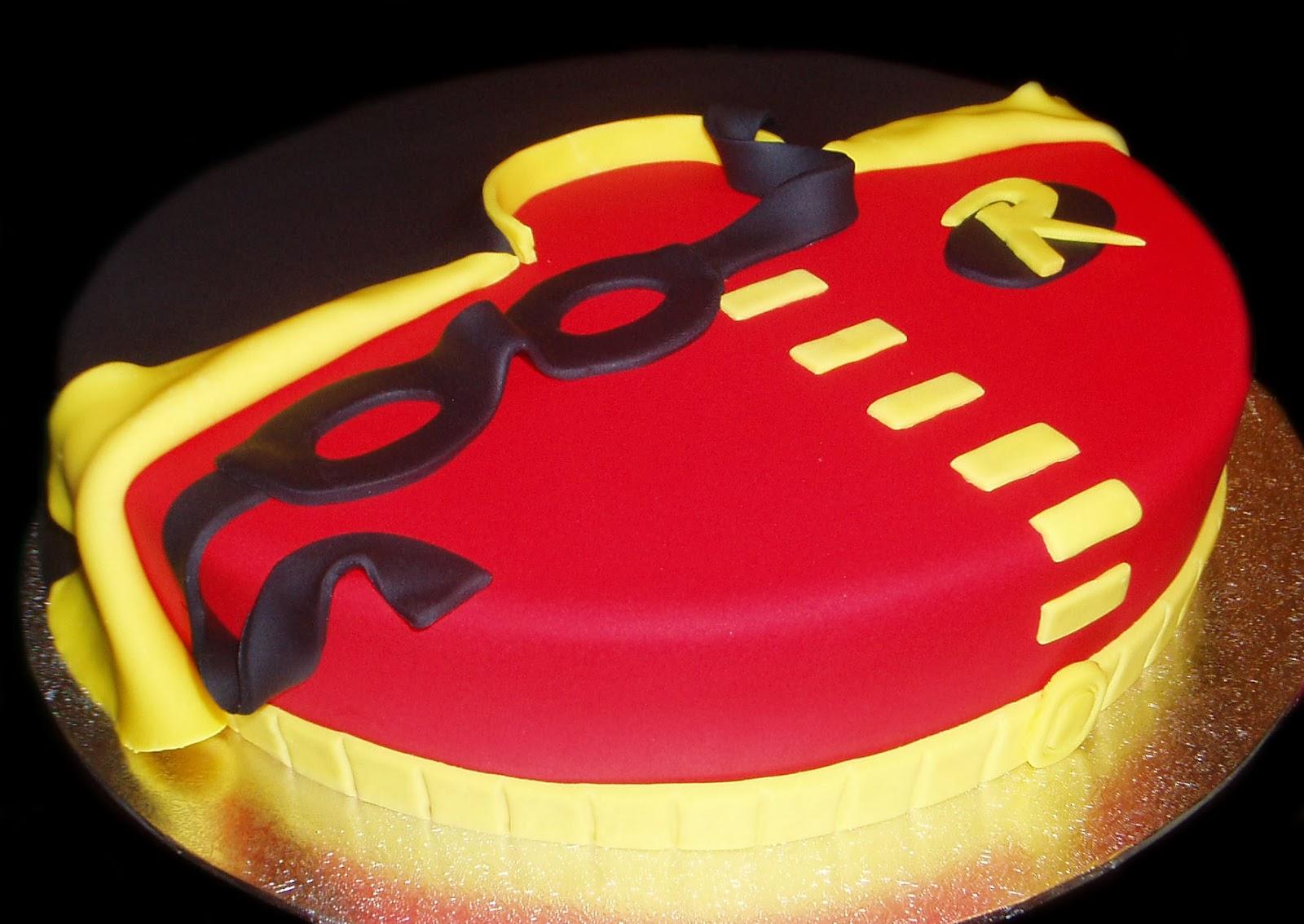 Nadas Cakes Robin Birthday Cake By Nadas Cakes Canberra