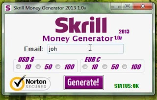 Skrill money adder working 2013