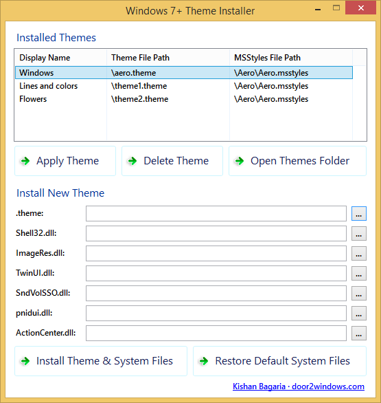 Windows 7 Theme Installer Free Download Full