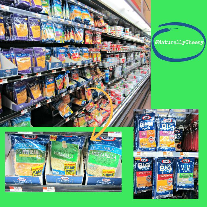 Shopping for Kraft Natural Cheese #NaturallyCheesy #ad