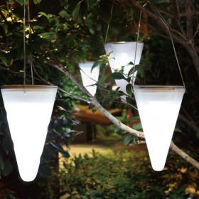 estas simpticas luces en forma de setas resultan una interesante opcin para iluminar los espacios exteriores estn hechos de vidrio y plstico y tambin