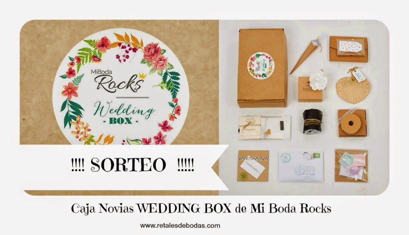 sorteo wedding box mi boda rocks retales de bodas