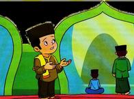 Doa masuk masjid dan terjemahannya