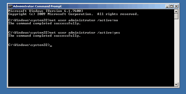 disable windows server 2008 r2 default administrator