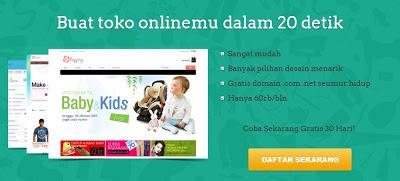 Jejualan.com website penyedia toko online mudah dan murah