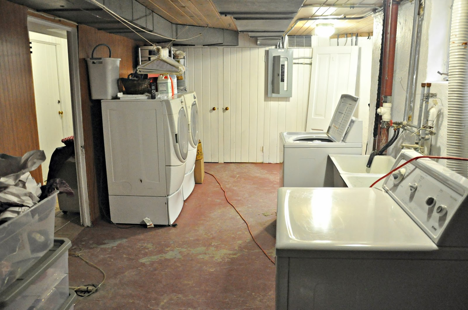 Basement Laundry Room Before And After Serendipity Refined Bl...