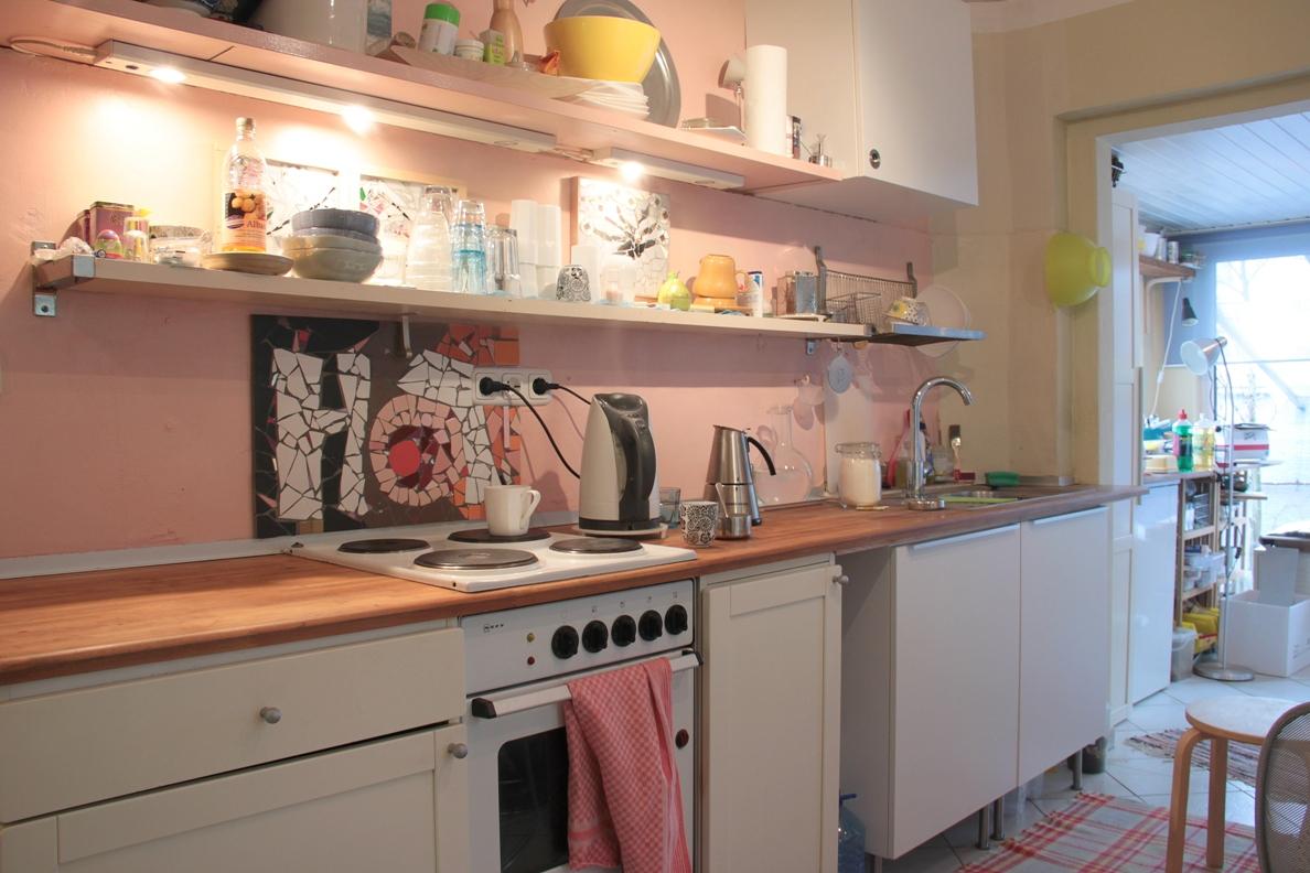 k chen pimpup und gezielte improvisationen. Black Bedroom Furniture Sets. Home Design Ideas