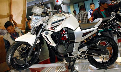 Modif Yamaha Byson Putih