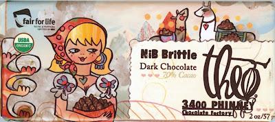 Theo Chocolate - Nib Brittle