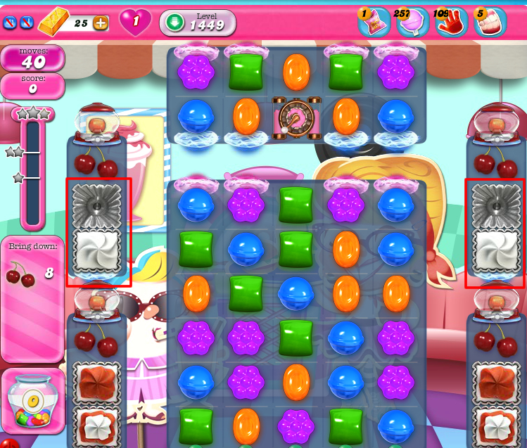 Candy Crush Saga 1449