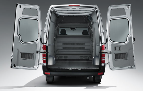 2014 Mercedes-Benz Sprinter cargo van cargo area