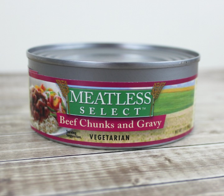Meatless Select Beef Chunks and Gravy Vegetarian