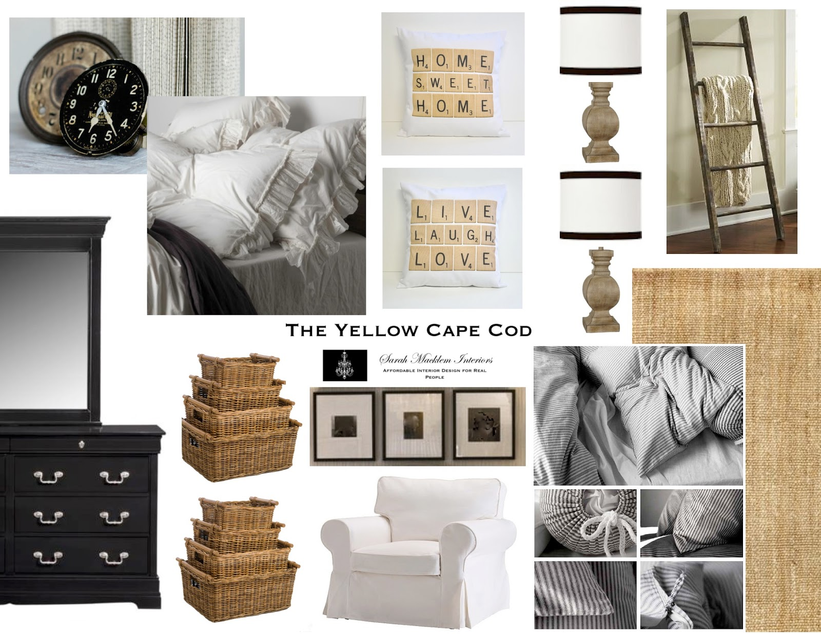 The Yellow Cape Cod: Vintage Collector's Master Bedroom