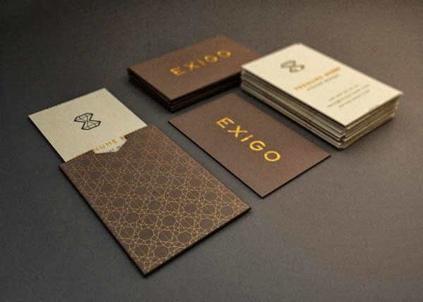 luxury business card - Quality Business Cards