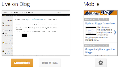 Custom Mobile Blogger Templates