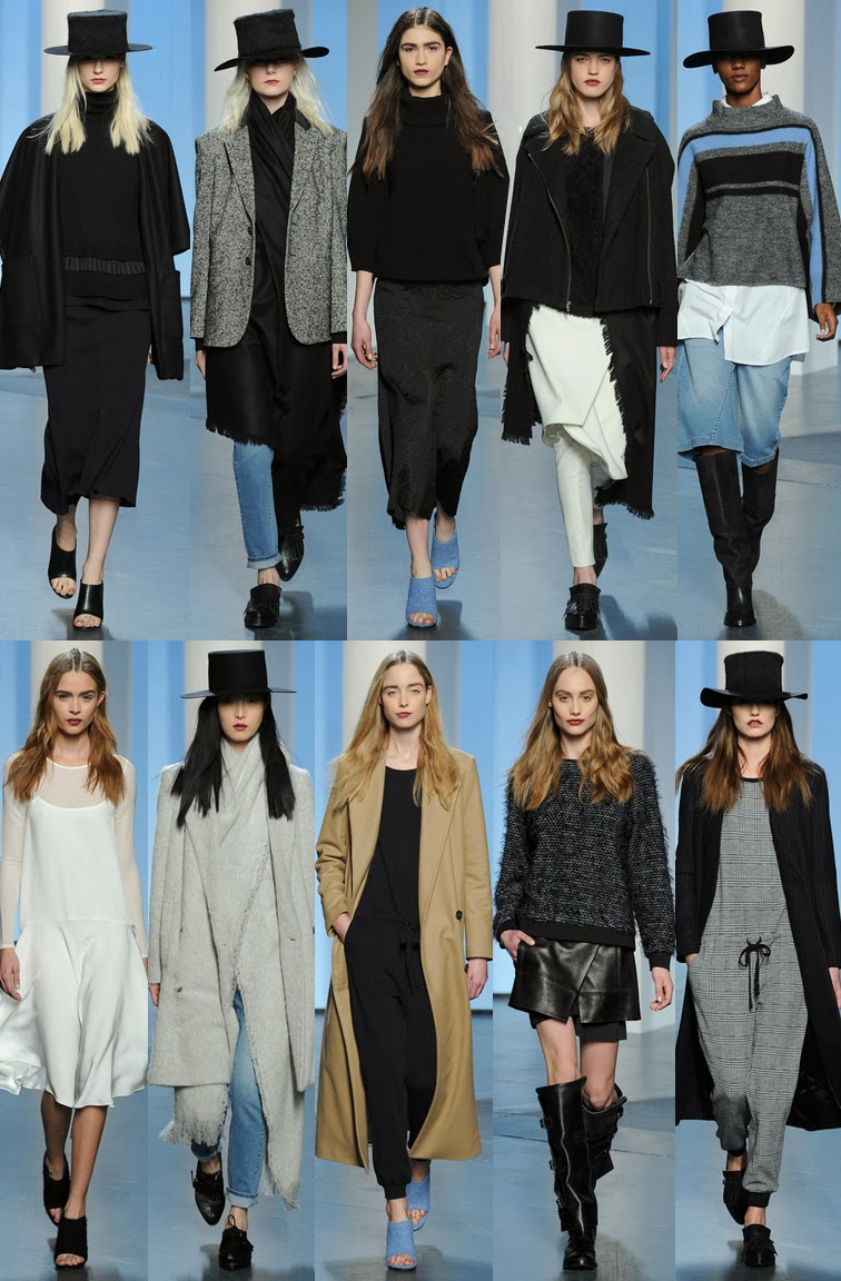 Tibi fall winter 2014 runway collection, NYFW, New York fasion week