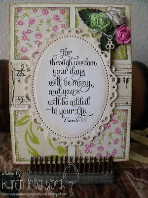 "Our Daily Bread designs ""Birthday Blessings"" Designer Karen Letchworth"