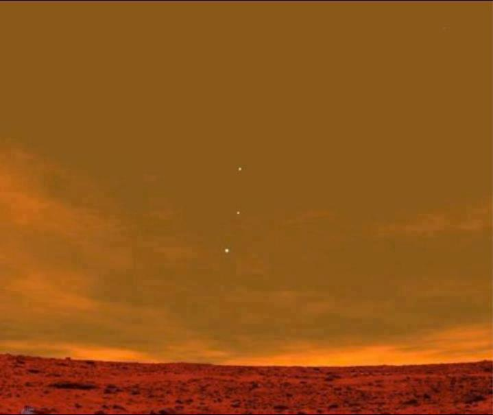 Factsram.blogspot: A View from Mars: Earth, Jupiter and ...