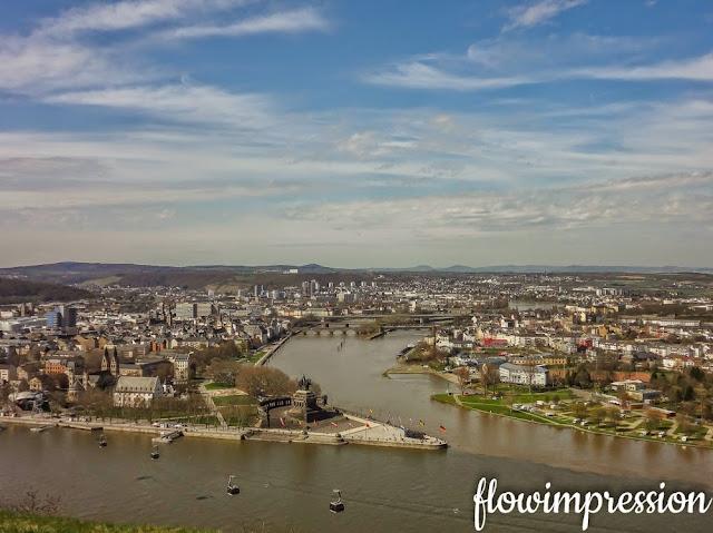 Koblenz von oben
