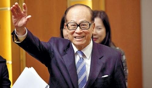 Li Ka-shing khuyên rằng nên chia thu nhập hàng tháng làm 5 phần. Ảnh: Next Shark
