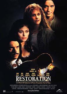 """Recenzja filmu """"Restoration"""" / """"Czas Przemian"""" (1995), reż. Michael Hoffman"""