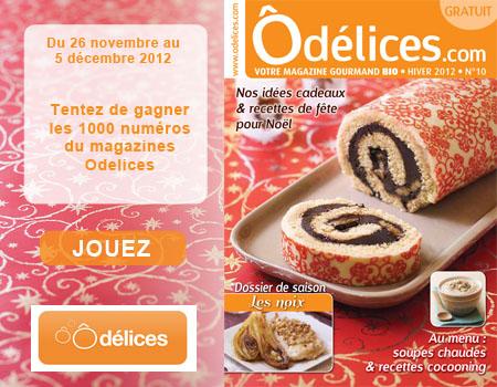 1000 magazines Ôdélices GRATUIT, faire vite !