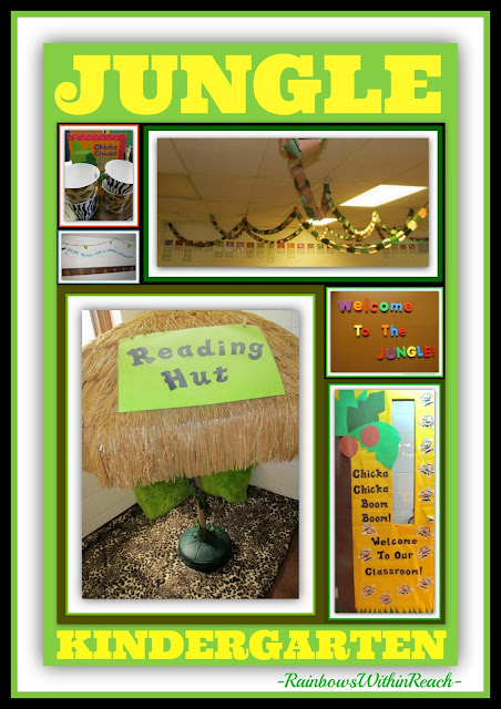 Kindergarten Room with Jungle Theme via RainbowsWithinReach