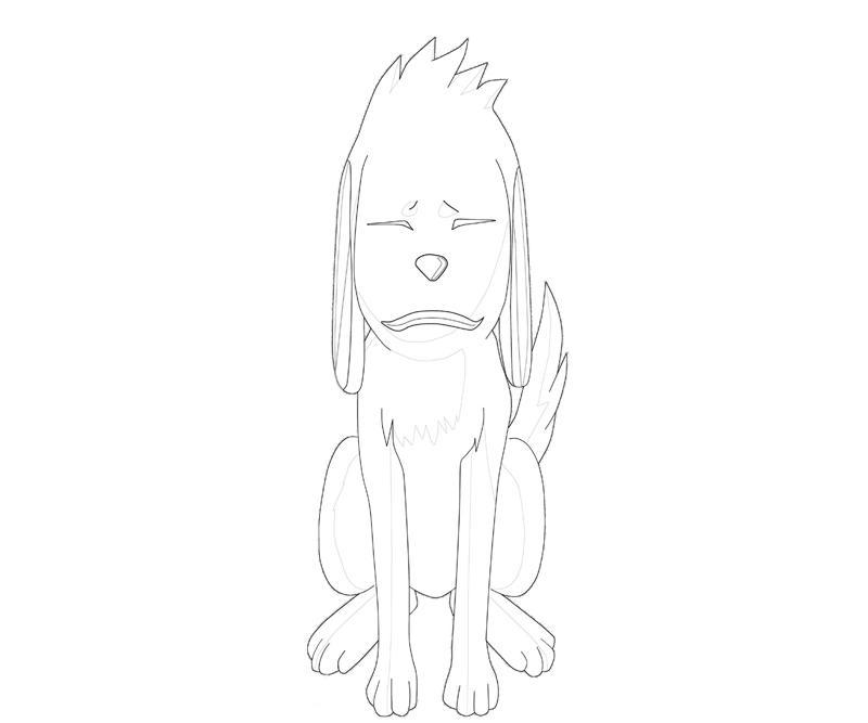 printable-naruto-akamaru-angry_coloring-pages-1