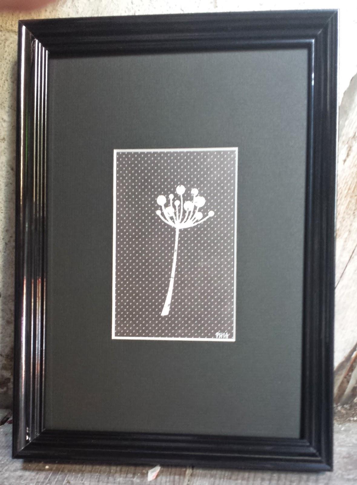 træramme med billede