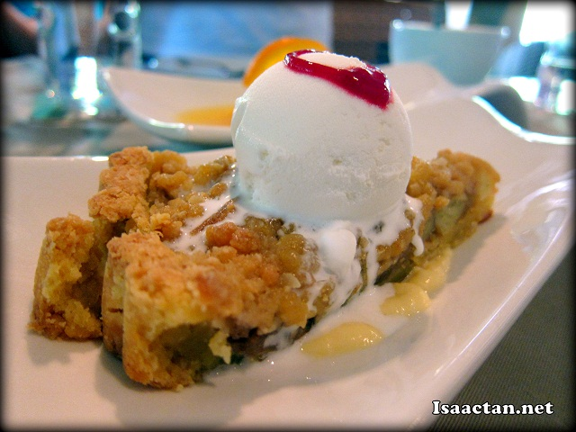 Apple Crumble - RM13.90